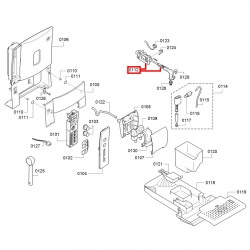 Кран пар-вода Bosch TES 503, Siemens EQ5, ver.02, 00653550