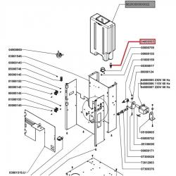Датчик магнитный M8x35 мм - 280 мм, NC, Nuova Simonelli, 04000565