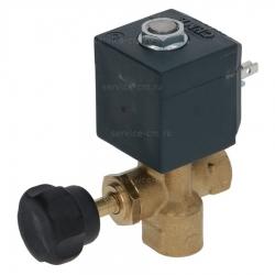 """Клапан двухходовой CEME, ø 1/4"""" 17VA 230V 50Гц, ø 3,0 мм, 04100024"""