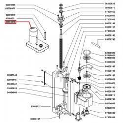 Двигатель с редуктором и энкодором Nuova Simonelli, 04600010