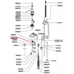 Гайка редуктора Nuova Simonelli Microbar, 38 мм, 05000744.1