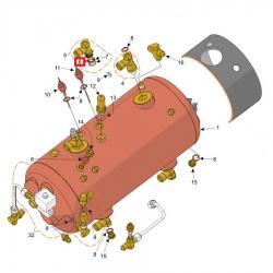 Уплотнитель 1.50 мм, D14мм, витон, Futurmat, Gaggia, Italcrem, 08494710