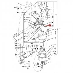 Уплотнитель OR 02037, OR 0110, ø 12,81x9,25x1,78 мм, EPDM, 1186803