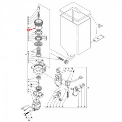 Уплотнитель OR 03256, ø 70,01x64,77x2,62 мм, EPDM, 1786203