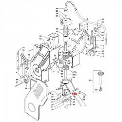 Уплотнитель OR 02010, ø 6,13x2,57x1,78 мм, Витон, 1186746