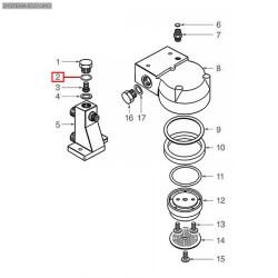 Уплотнитель OR 02093, ø 27,08x23,52x1,78 мм, EPDM, 1186401