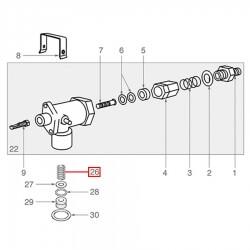 Пружина паровой трубки ø13 x18мм E91, Due, Enova Faema, 4600053030