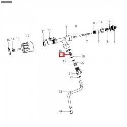 Пружина ø 15x28 мм паровой трубки, C219900427