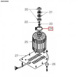 Хомут для помпы/мотора, 1168011