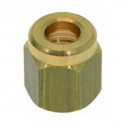 Латунная гайка для тефлоновой трубки D6, 1/8, 123460120
