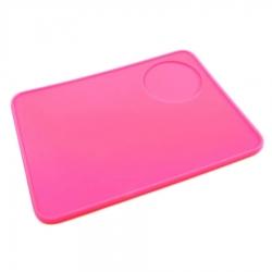 Коврик для темпера/портафильтра розовый, 1385780