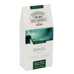 Кофе молотый Dell Arabica Brasil, 250 г