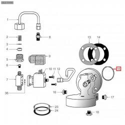 Уплотнитель OR 03181, ø 50,93x45,69x2,62 мм, EPDM, 1186466