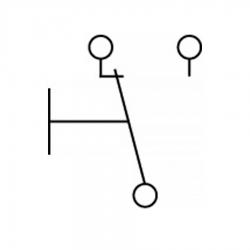 Микровыключатель 21 А 250 В, 345759