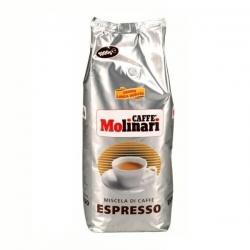 Кофе Molinari Espresso, в зернах, 1 кг