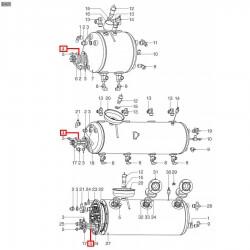 Уплотнитель OR 0146, ø 48,34x41,28x3,53 мм, EPDM, 3186238