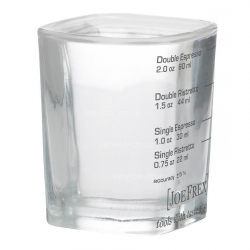 Мерный стакан, стеклянный, 22/60мл, 5056299