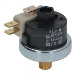 Прессостат XP110, 3 Бар, 16A, 230V, ø 3.2 мм М, 5228103900