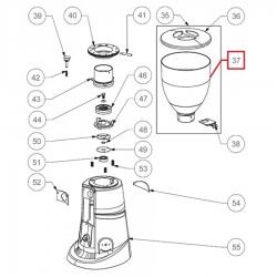 Крышка бункера зерна кофемолки ø 200 мм Fiorenzato, 200000002