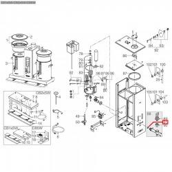 Уплотнитель OR 04067, ø 24,1x17,04x3,53 мм, EPDM, 3786519