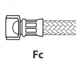 """Шланг водопроводный армированный ø 1/8"""", 370мм, 90°C, 10 Бар, 532300500"""