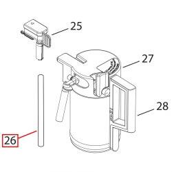 Трубка подачи молока 160 мм DeLonghi ESAM 5500, 5600, 6700, 5332259800