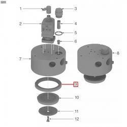 Уплотнитель холдера 72x56x8 мм, 1186622