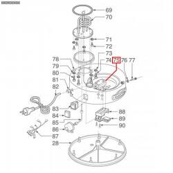 Термостат аварийный однофазный капилляр 580 мм, колба ø 4x91 мм, 177°C, 5511539806