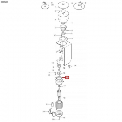Винт нерж. сталь с потайной головкой M5x16 мм, 01206035