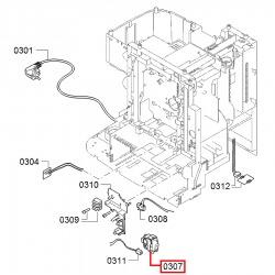 Выключатель питания серый Bosch, Siemens, 00621814