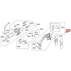 Блок форсунок для капучинатора Bosch Vero, Siemens EQ.7, 00647103