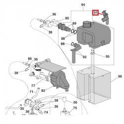 Носик для чистки от накипи DeLonghi EN520 Nespresso, 7313226711