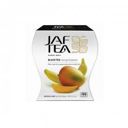 Чай JAF TEA Манго и банан, черный чай крупнолистовой, 100 г