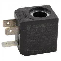 Катушка солен.клапана CEME 230В, 13,5Вт, Ø10мм, 91021108DIS