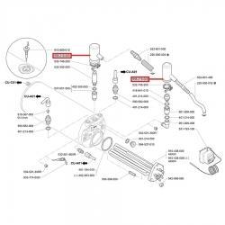 Защита аварийного клапана резиновая Casadio, Cimbali, Faema, 958219000