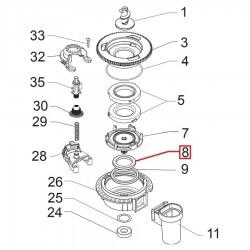 Подшипник кофемолки горизонтальной (большой), 123030300