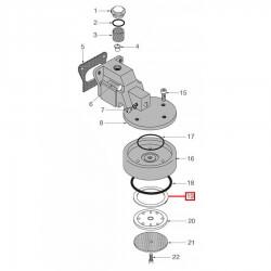Уплотнитель холдера ø 70x57x8 мм, 1186654