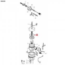 Уплотнитель OR 06262, OR 0169, ø 76,72x66,04x5,34 мм, EPDM, 1186505