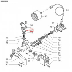 Уплотнитель OR 02068, ø 20,73x17,17x1,78 мм, EPDM, 3243069