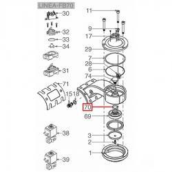 Уплотнитель OR 04081 EPDM 3.53мм - ø 20.22мм, L105/A