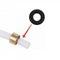 Уплотнитель на тефлоновую трубку, 3.4x1.9, EPDM, ES0061701