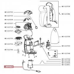 Сетевой шнур с термопредохранителями для кофеварки KRUPS, MS-622745