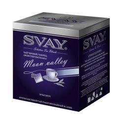 Чай Svay Лунная долина, черный с чабрецом и васильком, в саше, 20х2 г