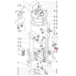 Клеммная колодка Octal ES8 блока управления уровнем, 10А, 400В, 09000011
