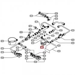 """Электромагнитный клапан Parker двухходовой 230 В 50 Гц,, ø 1/8 """", 19 бар, ø 2.5 мм, Astoria CMA, Wega, 18160002"""