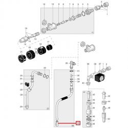 Форсунка паровой трубкиø 8.5 мм, отв. 1.2 мм, Carimali, Spaziale, 07048