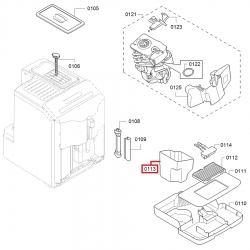 Бункер для кофейных отходов Bosch, 10002579