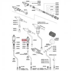Переходник никелированный ø 3.2 мм - 9.6 мм, 3349322
