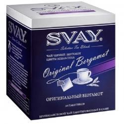 Чай Svay Оригинальный бергамот, в саше, 20х2 г